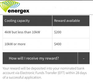 Energex Air Conditioning Rebate